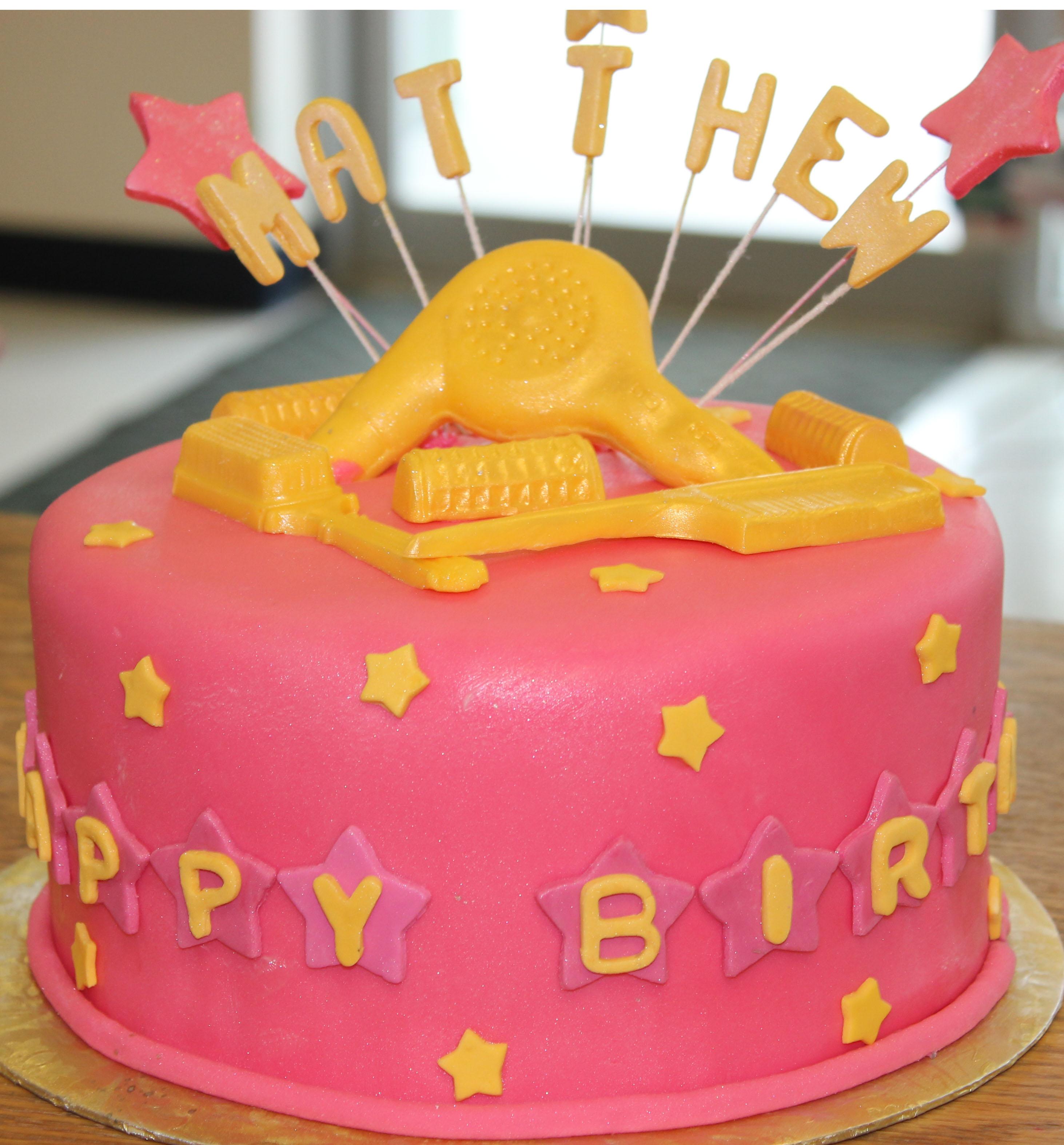 Matthews Pink Fondant Cake Lolita by Lolita