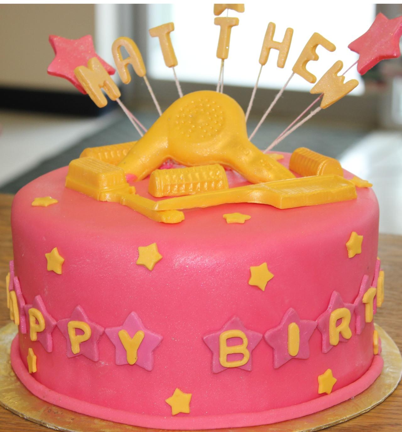 Matthew BD cake